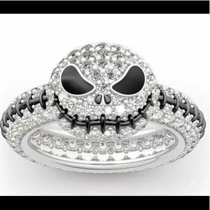 Jack Skellington Ring Size 7